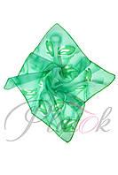 Шейный платок зеленый