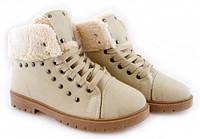 Зимние ботинки на шнурках размеры 37,38