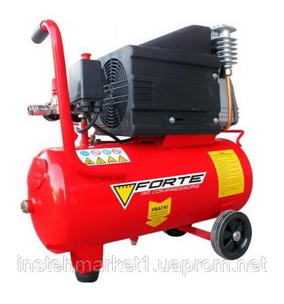Компрессор Forte NC 24-10 (ресивер-24 л.; 285 л/мин), фото 2