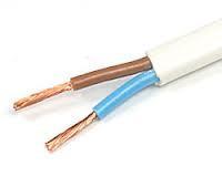 Кабель электрический плоский, медный,ШВВП сечение 2х1,5, ГОСТ, м