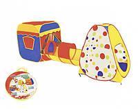 Детская палатка 999E-23A Домик с трубой, фото 1