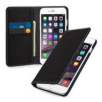 """Кожаный чехол-книжка TETDED для Apple iPhone 6/6s (4.7"""") (Черный)"""