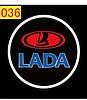 Светодиодные проекторы LADA в дверь 4-го поколения shadow light MC-04