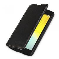 Кожаный чехол-книжка TETDED для LG D295 L Fino Dual (Черный)