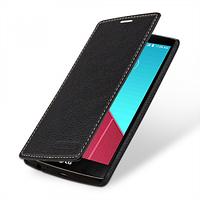 Кожаный чехол-книжка TETDED для LG H815 G4 (Черный)