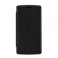 Кожаный чехол-книжка TETDED для LG H734/H736 G4s Dual (Черный)