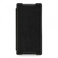 Кожаный чехол-книжка TETDED для Sony Xperia Z5 Premium (Черный)