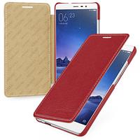 Кожаный чехол-книжка TETDED для Xiaomi Redmi Note 3 / Redmi Note 3 Pro (Красный)