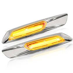 Sidemarker New BMW LED Silver Chromed