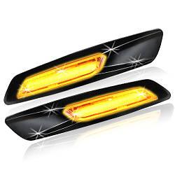 Sidemarker New BMW LED Glossy black chromed