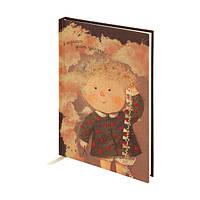 """Блокнот А5 Гапчинская в крафт-обложке """"Я научилась делать праздник"""" 8403, фото 1"""