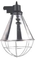 Защитный абажур для инфракрасной лампы Е27 с регулятором 50%, с кабелем 2.5м (Германия)