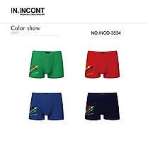 """Чоловічі боксери стрейчеві марка """"IN.INCONT"""" Арт.3534, фото 3"""