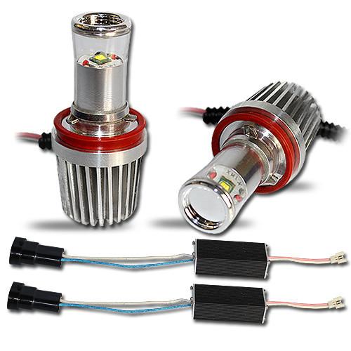 Светодиодная автолампа H8, 10W (2*1100 Lm), WHITE -5000K(1 LED XML-T6 10W CREE) + драйвер
