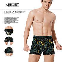 Мужские боксеры стрейчевые марка IN.INCONT  Арт.3538, фото 2