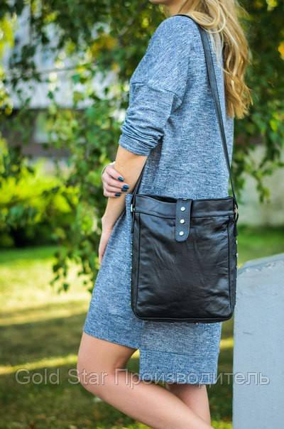 f71353b0c92c Кожаная сумка для почтальон, сумка для планшета - My Furs магазин по пошиву  меха и