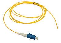 Пигтейл FALCO LC/UPC-SM-9/125-0,9mm-1,5m, Easy Strip, Yellow