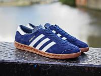 Кроссовки Adidas Hamburg Синие 41-45 рр