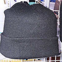 Вязаная шапка черная (военторг) охота-рыбалка