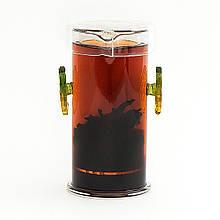 Колба для заварювання чаю. Скляний заварник 190 мл