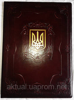 Папка Герб Украины «ТРИЗУБ»
