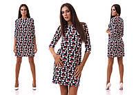 Красивое платье принт КОШЕЧКИ!!!