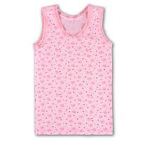 Майка для девочки розовая,116