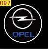 Светодиодные проекторы OPEL в дверь 4-го поколения shadow light MC-04