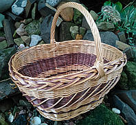 Корзина плетеннай из  лозы для подарков, фото 1