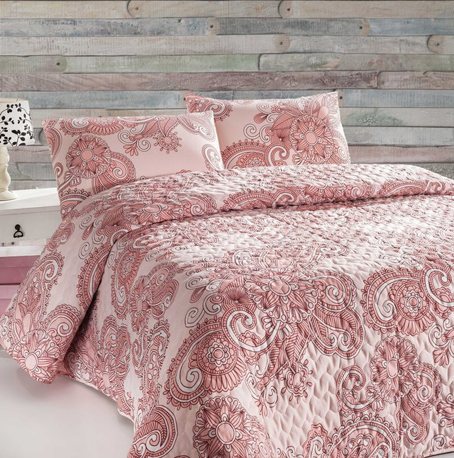 Покрывало Eponj Home  ONE COLOR PEMBE