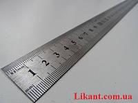 Линейка металлическая 0,3 м