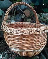 Потребительская корзина плетеная