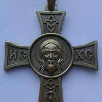Крест с ликом Иссуса Христа