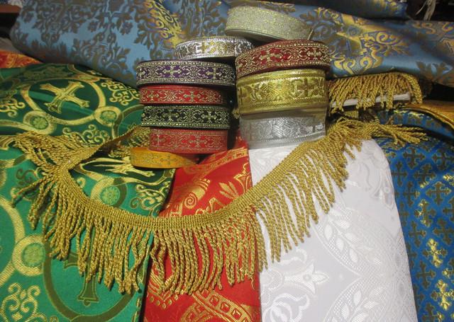 Церковні тканини та обшивки. Товары и услуги компании