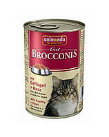ANIMONDA Brocconis с домашней птицей и сердцем 0.4 kg
