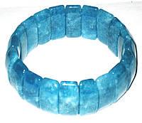 Браслет из аквамарина