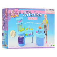 Мебель 2916 кухня, стойка сплитой, мойка, посуда, в кор-ке, 31-21-6,5см