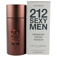 Тестер CAROLINA HERRERA 212 SEXY MEN Tester