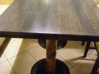 Столешница из Дуба 900х900х40. Изготовление дубовых столешниц.  Производство дубовых столешниц.
