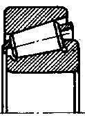 Подшипник наружный 7609 ступицы колеса прицепа тракторного 2ПТС-4