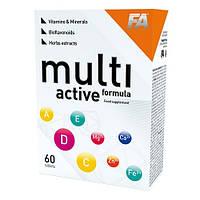 Витамины для девушек Fitness Authority Multi Active Formula (60 таб.)
