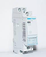 Контактор модульный 25А, 2НВ, 230В, 1м ESC225 Hager