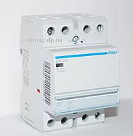 Контактор модульный  40A, 2НВ, 230В, 3м ESC240,Hager