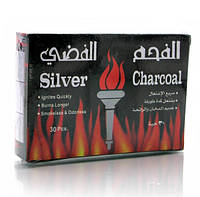 Уголь для кальяна 10 пластин в упаковке 13Х9Х2,5 см