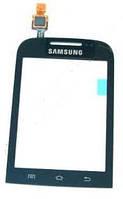 Сенсорное стекло для SAMSUNG B5330 Galaxy Chat черное