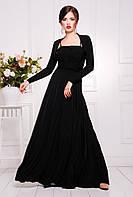 Шикарное вечернее платье макси с болеро.