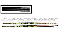 Лыжи спортивные, пластик STС р. 130 см. (Украина)