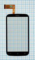 Тачскрин сенсорное стекло для HTC Desire X T328e black