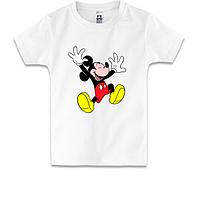 Детская футболка веселый Мики