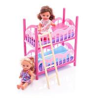 Детский кукольный набор Евы с двуспальной кроватью Simba